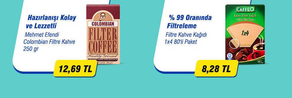 Gerçek kahve keyfini yaşamak isteyen filtre kahve tutkunlarına özel fırsat!