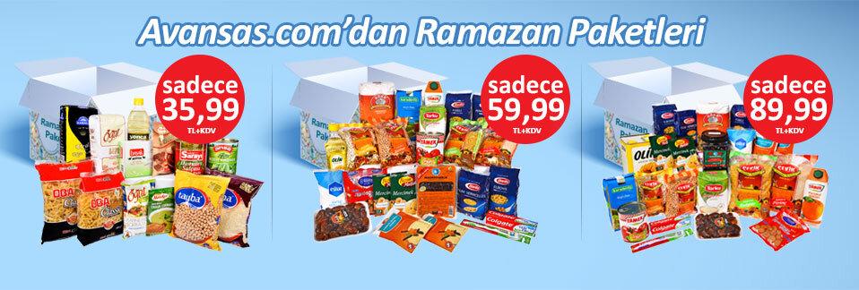 Ofis çalışanlarınız için farklı boy Ramazan Paketleri Avansas.com'da!