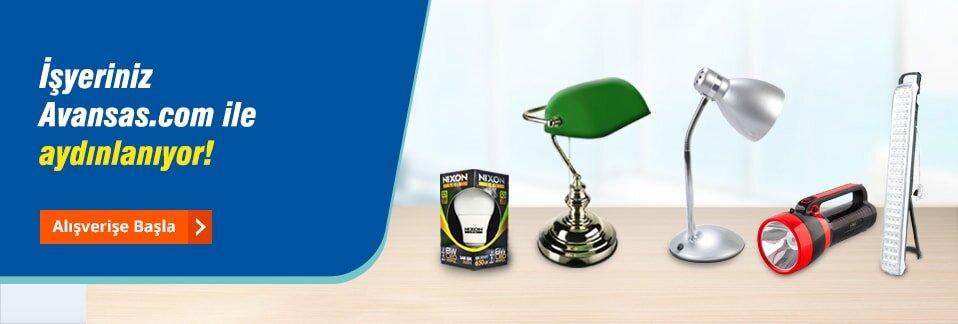 İşyerinize ışık tutacak aydınlatma çözümleri avantajlı fiyatlarla Avansas.com'da!