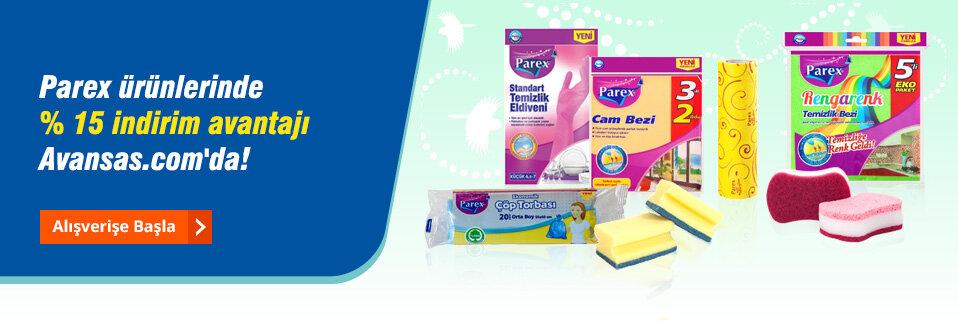 İşyerinizde bahar havası estirecek ekonomik ve pratik Parex temizlik ürünlerini kaçırmayın!