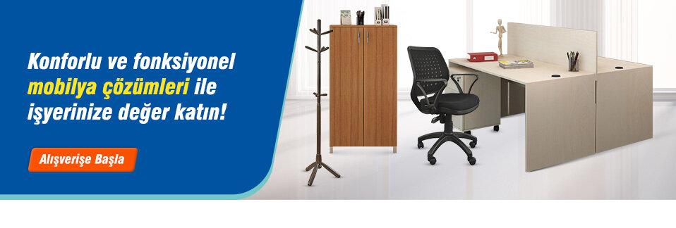 Ofis mobilyalarında geniş seçenek uygun fiyat avantajıyla Avansas.com'da!