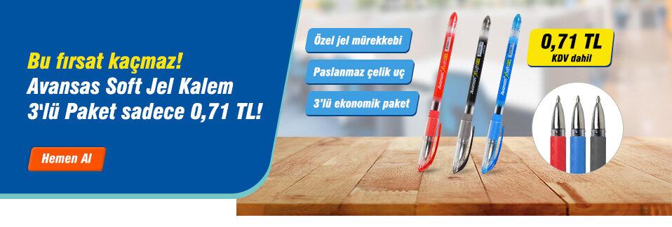 Avansas Soft Jel Kalem ürünleri kargo bedava avantajıyla 1 iş gününde kapınızda!