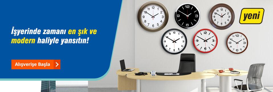Şık ve uygun fiyatlı duvar saatleri Avansas.com'da!