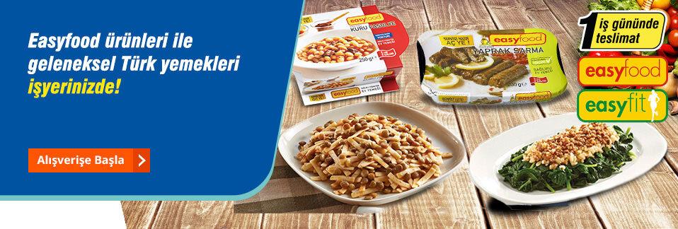Servise hazır, %100 doğal, pratik, lezzetli ve ekonomik!