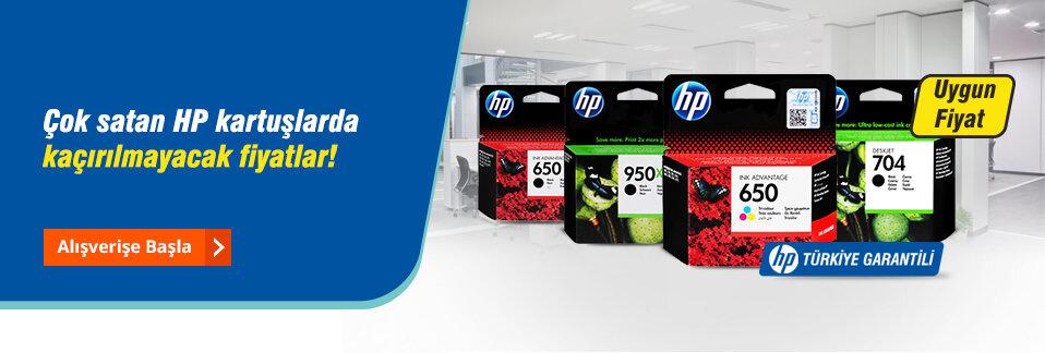 Yüksek baskı kaliteli orijinal HP kartuşlar uygun fiyatlarla Avansas.com'da!