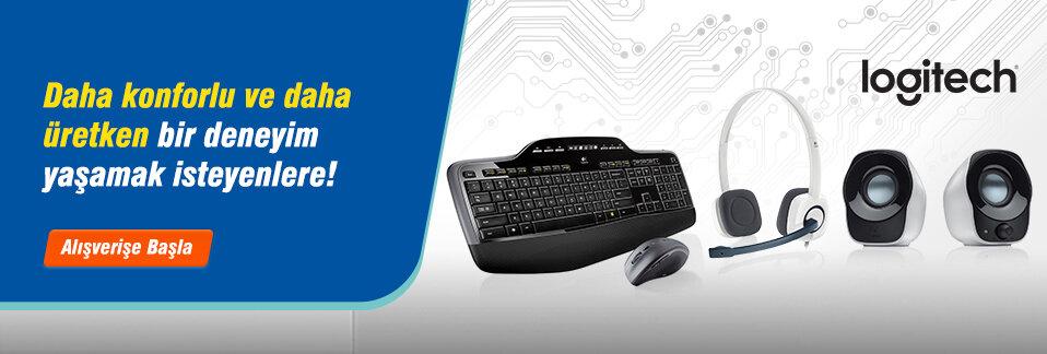 Yenilikçi ve kaliteli Logitech bilgisayar aksesuarları uygun fiyatıyla Avansas.com'da!