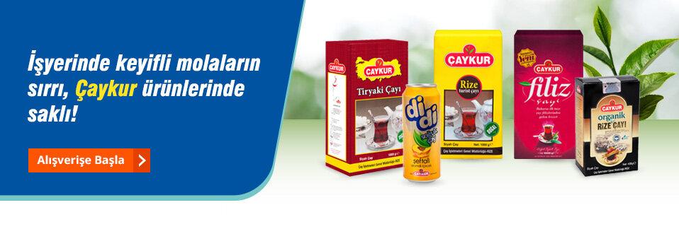 Türkiye'nin gerçek çayı Çaykur avantajlı fiyatları ile ertesi iş günü kapınızda!