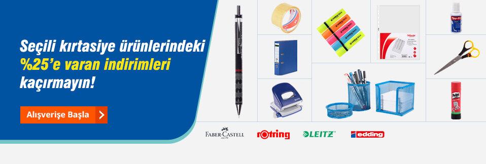 Dünya markası kırtasiye ürünlerinde kaçırılmayacak fiyatlar Avansas.com'da!