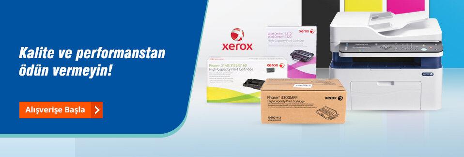 Kaliteli baskı ve çevreye duyarlı ürün seçenekleri ile Xerox markalı ürünler Avansas.com'da!