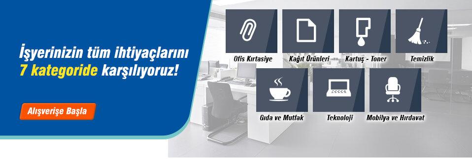 Kartuş'tan Gıda'ya Temizlik'ten Kırtasiye'ye Aradığınız Tüm Kategoriler Avansas.com'da!