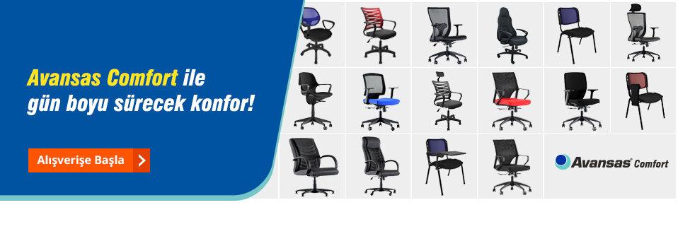 İşyerinize uygun rahat ve kullanışlı koltuk çözümleri Avansas güvencesi ile sizlerle!