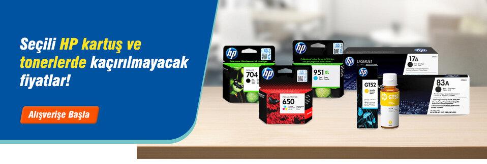 Yüksek baskı kaliteli orijinal HP kartuş ve tonerler uygun fiyatlarla Avansas.com'da!