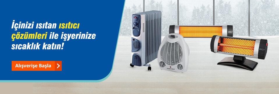 Sıcacık bir kış için uygun fiyatlı ısıtıcı çözümleri Avansas.com'da!