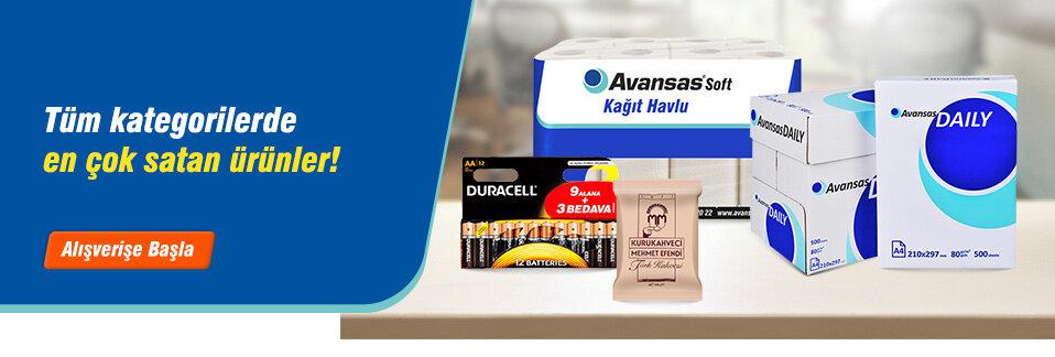 Çok satan ürünler 1 iş gününde teslimat avantajı ile kapınızda!