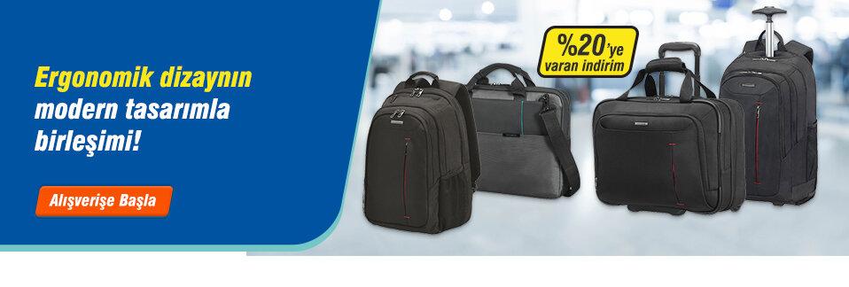 Şık ve kullanışlı Samsonite notebook çantaları %20'ye varan indirim fırsatıyla Avansas.com'da!