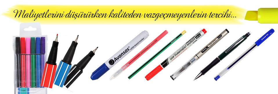 Avansas Markalı Kalemlerle Mükemmel Renkler Hep Seninle!