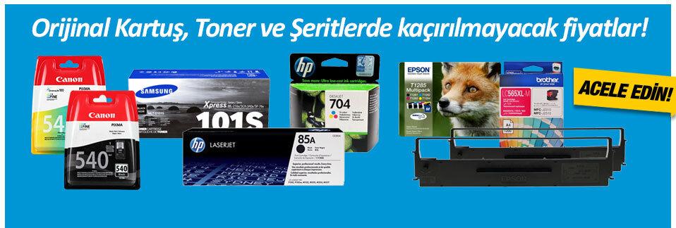 Kartuş, Toner ve Şeritlerde kaçırılmayacak fiyatlar Avansas.com'da!