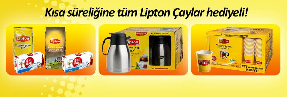 Lipton çaylarda kaçırılmayacak kampanyalar Avansas.com'da!