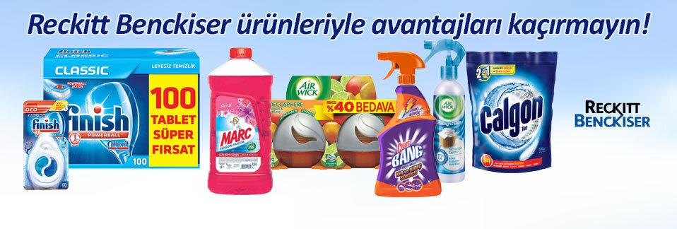 Cillit Bang, Finish, Marc, Air Wick markalı ürünler Avansas.com'da şimdi çok avantajlı!