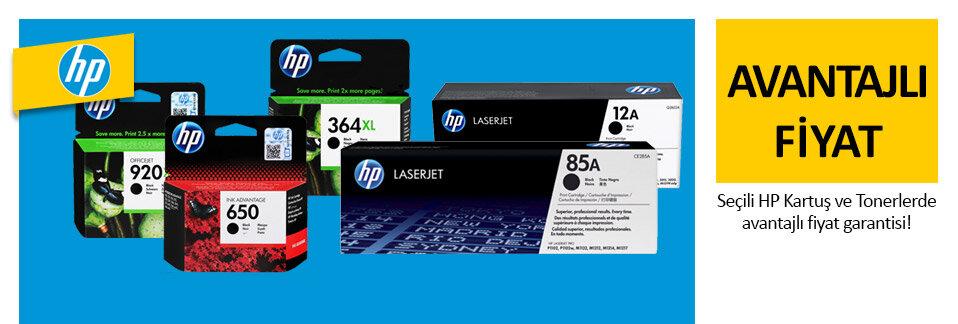 HP markalı kartuş ve tonerlerde özel fiyatlar Avansas.com'da!