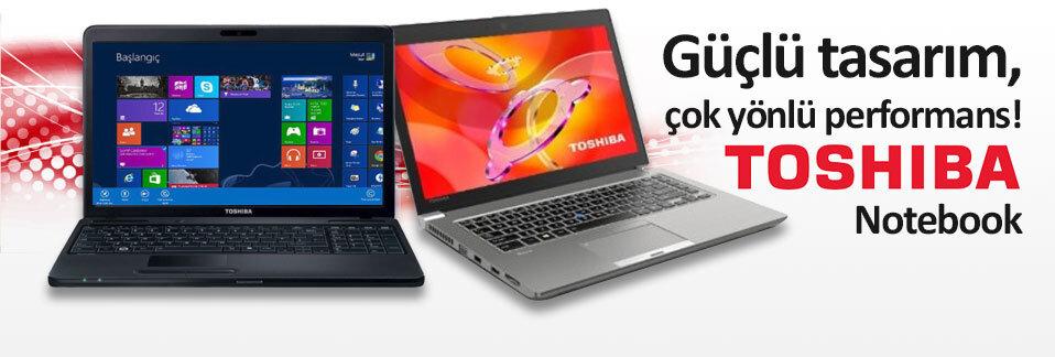 Toshiba Notebook'lar kaçırılmayacak fiyatlar ve 4 taksit avantajıyla Avansas.com'da!